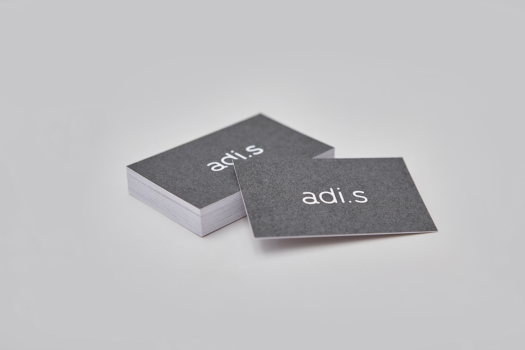 NotJust Visitenkarten Businesscards Siebdruck Grafik